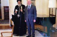 Pope Tawadros visits Australian Parliament