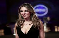 Elizabeth Hurley on the 39th Cairo International Film Festival in Egypt