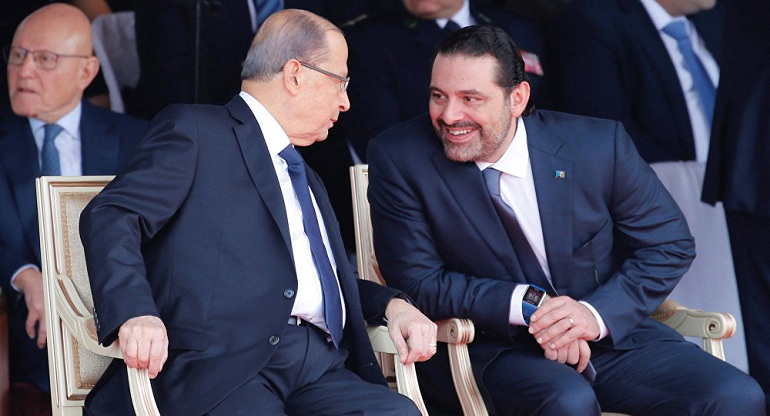 Saad Al-Hariri arrived in Beirut to participate in celebrations of the Lebanese Independence Day