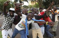 Zimbabwe celebrates after Mugabe resignation