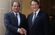 Al-Sisi hold bilateral talks with his Cypriot counterpart and Greek PM