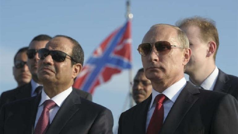 Putin in a phone call to Al-sisi