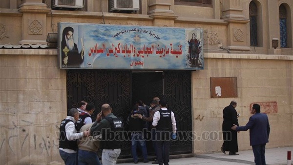 Video: Arresting one of Mar Mina church attackers
