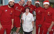 Mohamed Salah visits children's hospital in Liverpool