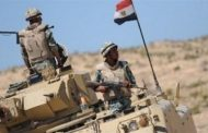 Egyptian armed forces continue to raid terrorist strongholds