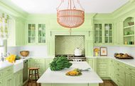 Stylish Green Kitchens