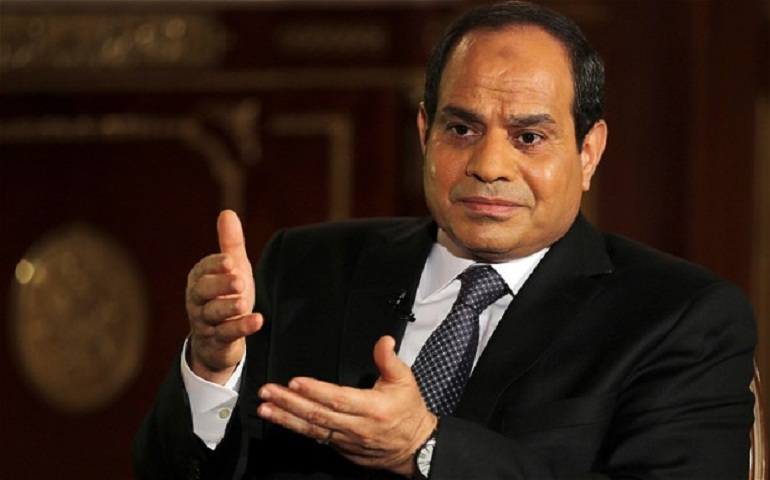 Al-Sisi call on preserving the legal status of Jerusalem