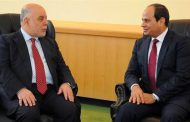 Iraqi PM receives message from President Sisi