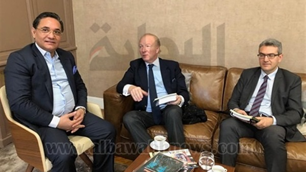 Abdel Rahim Ali receives former French MoI at the Center for Middle Eastern center for Studies in Paris