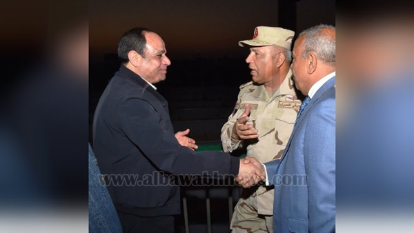 President Sisi tours Rod el Farag axis, Sphinx International Airport