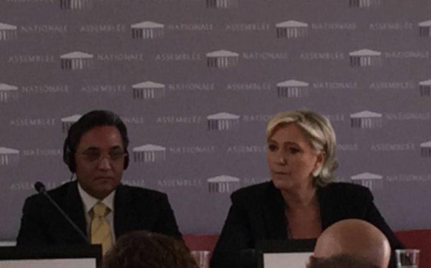 At the French parliament, Abdel Rahim Ali: