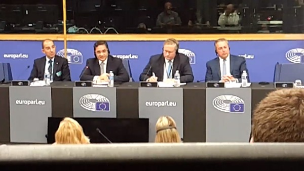 """Abdel Rahim Ali to the European Parliament: """"I wrote 18 books about the dynamic Islam"""""""