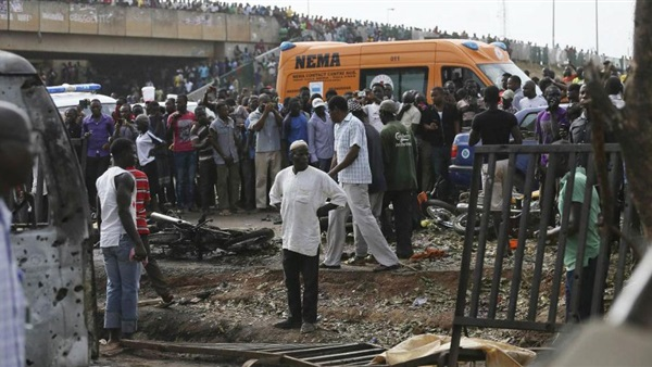 31 killed in suicide bombing, grenade attacks in Nigeria town