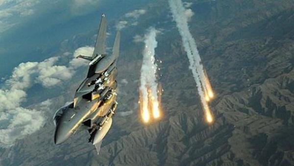 Arab coalition warplanes launch three raids on Houthi sites in eastern Sanaa