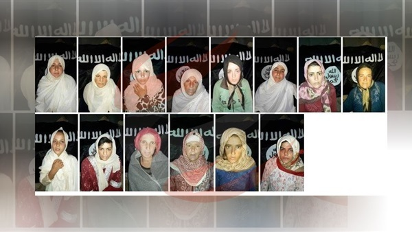 Daesh posts photos of women kidnapped from Sweida