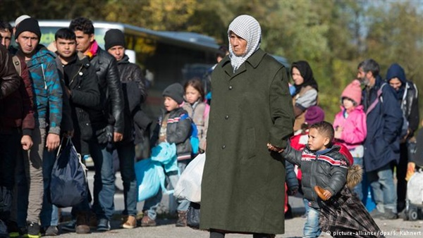After driving 500000 Syrians away …Europe intends to send the Iraqi refugees back to their country