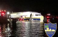 143 passengers revive after plane skids off runway into river in Jacksonville, Florida