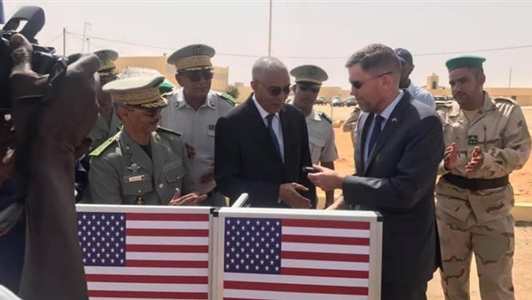 US military support to Mauritania for combating terrorism and other