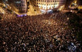 Riot police clash with Lebanese protesters in Beirut, injuries reported