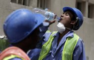 Qatar's workers are at risk of heat stress for half the day during summer, finds UN
