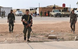 Syrian government forces enter the boder town of Kobani
