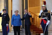 Macron, Merkel call for end to Turkish offensive in Syria