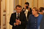 Macron, Merkel call for end to Turkish invasion in Syria