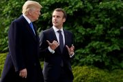 Trump, Macron voice concern over Iran's nuclear program