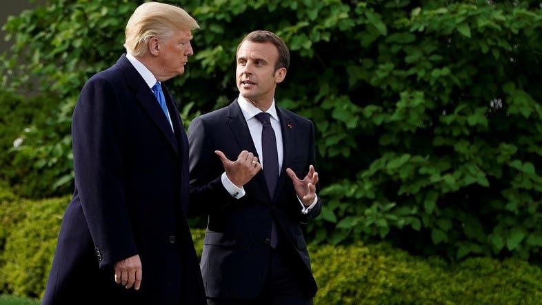 Trump, Macron voice concern over Iran's nuclear program