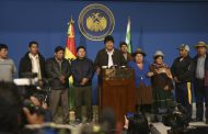 Bolivian president Evo Morales resigns after election result dispute