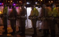 Colombia tries to contain mass protests by closing its borders