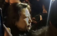 Police to investigate as Hong Kong minister falls to ground during protest in London