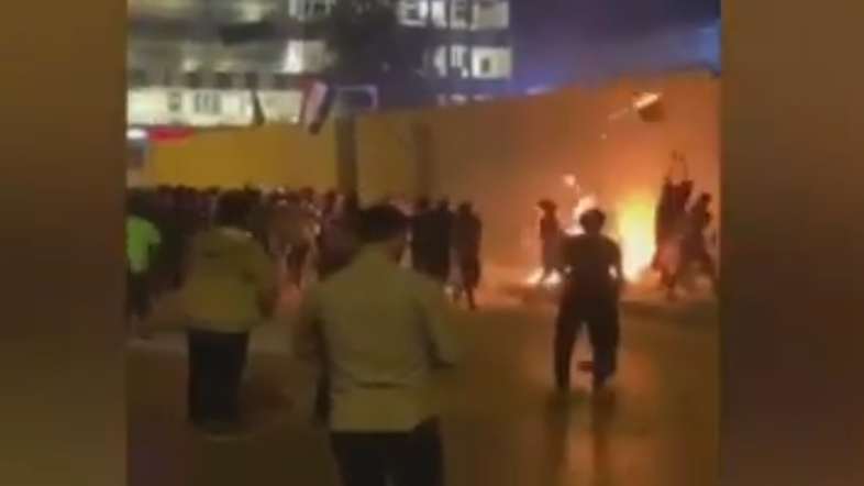 Three protesters shot dead in Iraq's Karbala near Iran consulate