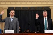 Trump impeachment hearings focus on Ukraine pressure campaign in first day