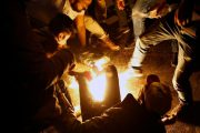 Lebanese protester sets himself alight in Beirut