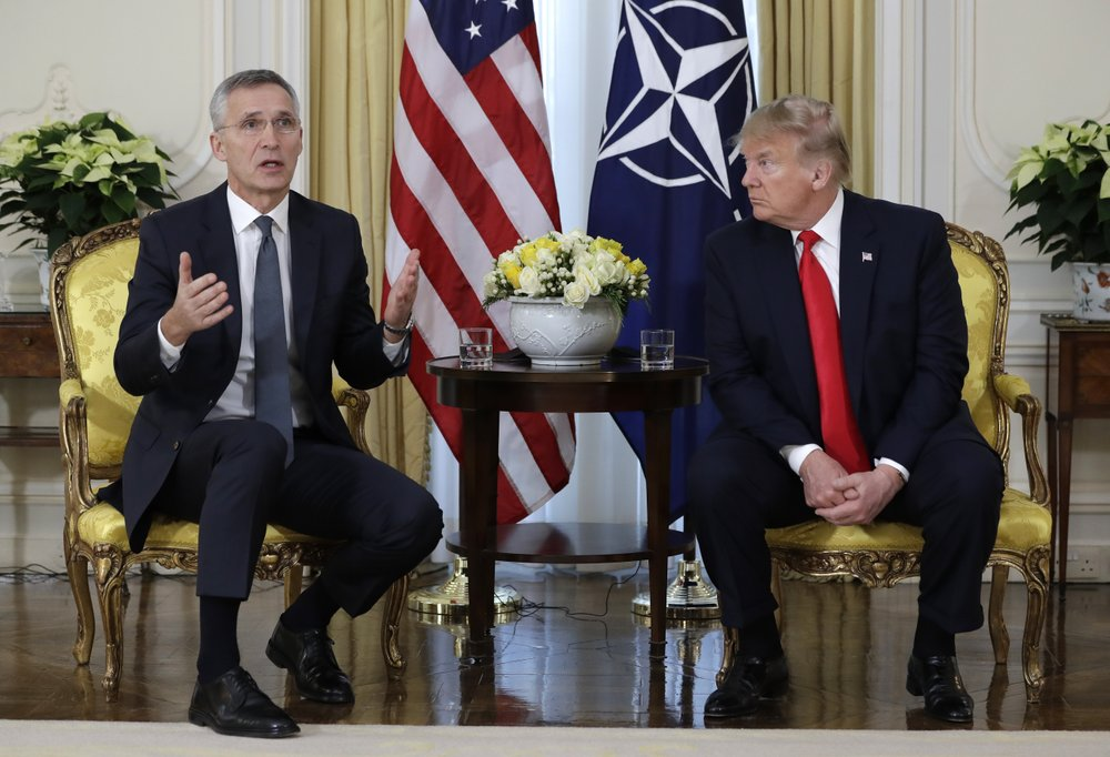 Trump attacks French leader Macron over NATO comments