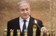 Benjamin Netanyahu takes shelter after rocket launched from Gaza