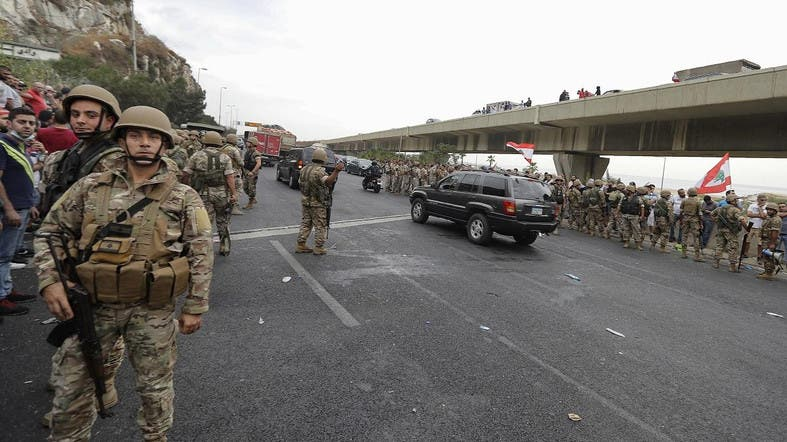 Several Lebanese soldiers injured in clashes while trying to reopen road