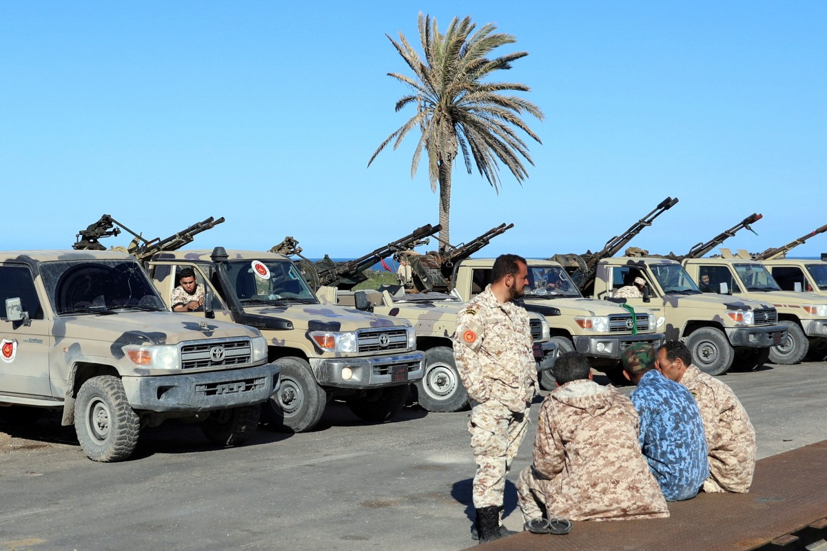 Libyan army sends military reinforcements to Tripoli