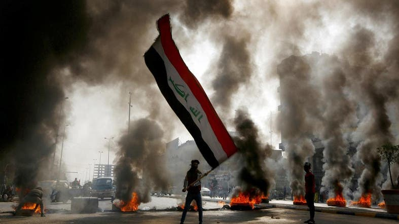 Officials hold talks in Iraq capital as violence hits Najaf, Karbala
