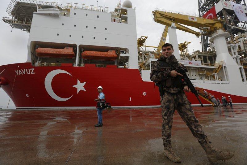 Cyprus: Turkey stole offshore gas data