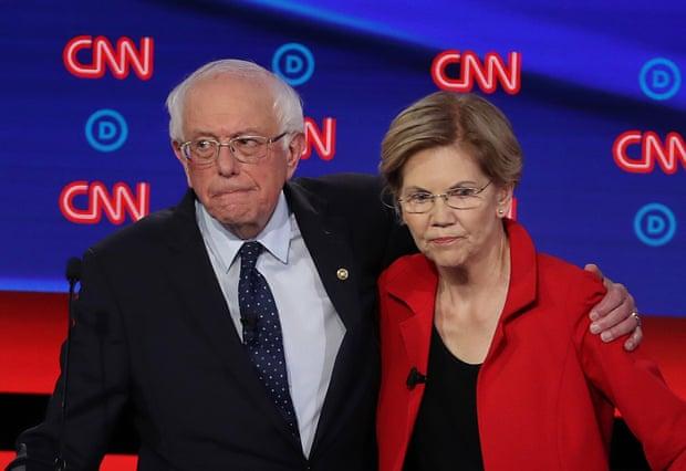Warren says Sanders told her no woman could beat Trump in 2020