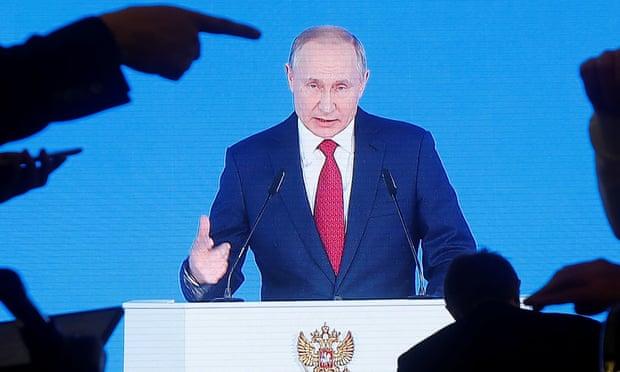 Putin calls for constitution changes that would weaken successor