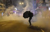 Hong Kong braces for huge New Year's Day march after night of unrest