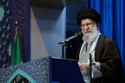 Iran's top leader strikes defiant tone amid month of turmoil