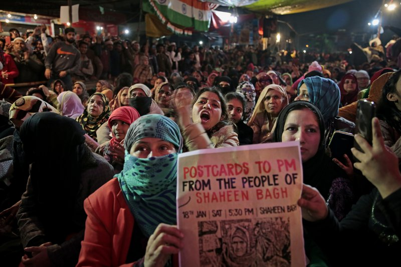 Muslim women occupy streets in India against citizenship law