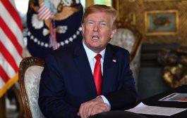 Trump warns Iran's Khamenei to 'be very careful with his words'