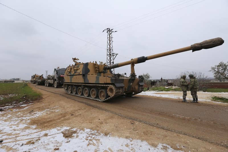 Turkey at risk of more confrontations with Syria and Russia