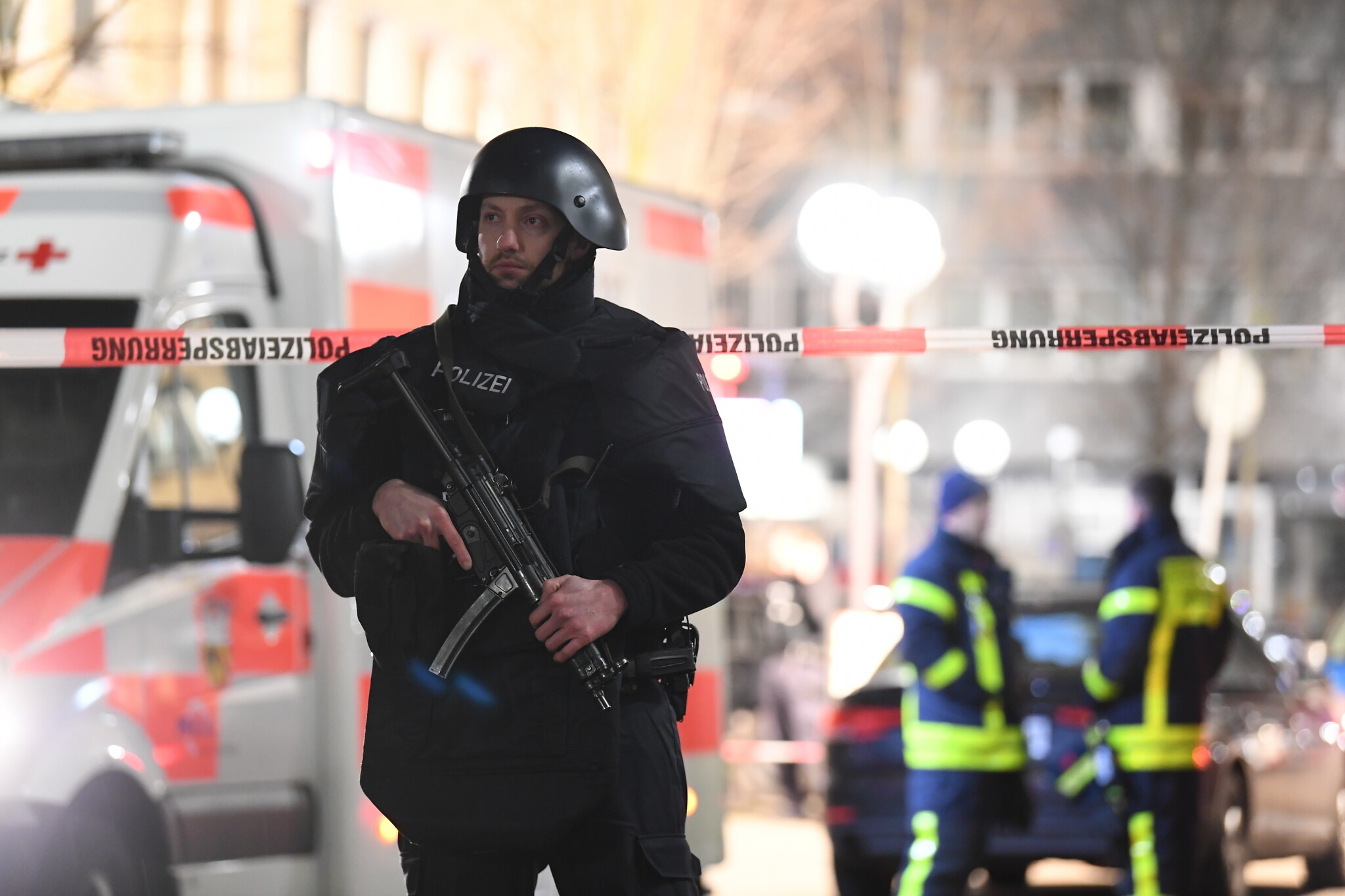 Germany to investigate mass shooting as right-wing terrorist attack