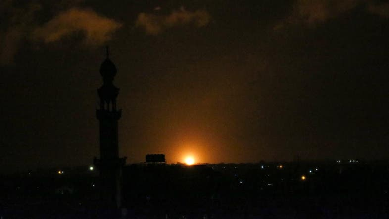 Israeli jets bomb Hamas targets in Gaza